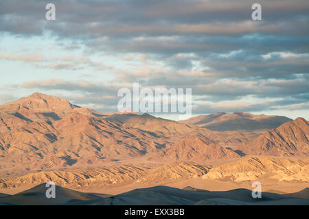 View of Mesquite Dunes - Stock Photo