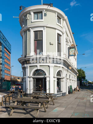 The well-known Liverpool landmark, The Baltic Fleet pub, Liverpool, UK - Stock Photo