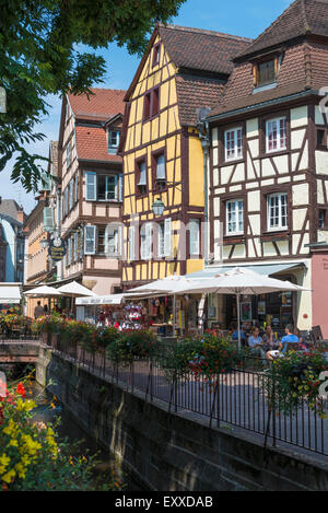 Old Town in Colmar, Alsace, France, Europe - Stock Photo