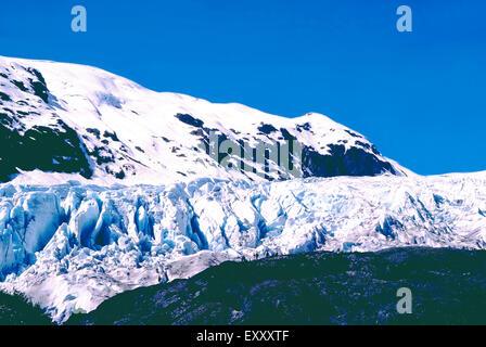 Exit Glacier,Alaska - Stock Photo