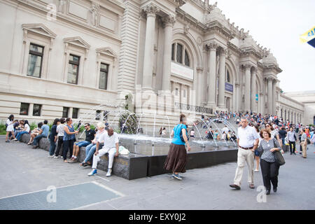 NEW YORK - May 26, 2015: The Metropolitan Museum of Art  located in New York City, is the largest art museum in - Stock Photo