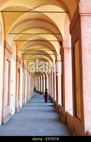 Portico di San Luca. - Stock Photo