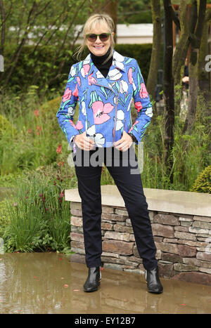 The Chelsea Flower Show 2015  Featuring: Twiggy Where: London, United Kingdom When: 18 May 2015 - Stock Photo
