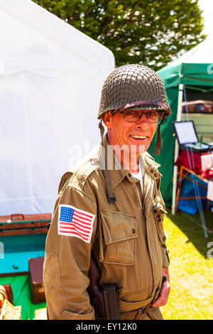 Woodhall Spa, Lincolnshire, UK. 19th July, 2015. 1940's Weekend at Woodhall Spa Lincolnshire UK England on 19/07/2015 - Stock Photo