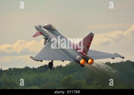 Eurofighter Typhoon FGR4 - Stock Photo
