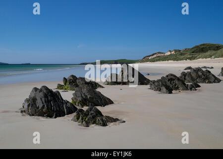 Balnakiel Beach, Sutherland - Stock Photo