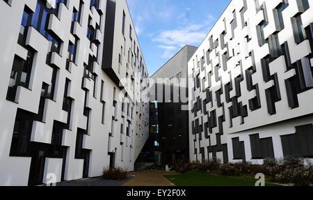 Modern Architecture Vienna austria vienna modern university stock photo, royalty free image