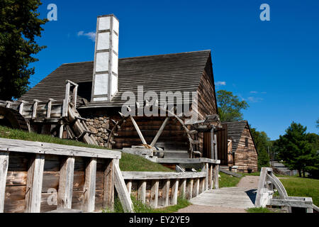 Forge building and Silting Mill building with - Stock Photo