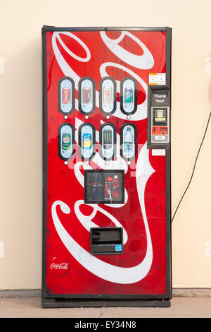 DARTMOUTH,  CANADA - JULY 12, 2015: Coca-Cola is a soft drink sold around the world by the Coca-Cola Company. - Stock Photo