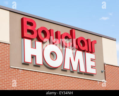 DARTMOUTH,  CANADA - JULY 12, 2015:  Bouclair Home is a Canadian home decorating retail chain headquarterd in Quebec. - Stock Photo