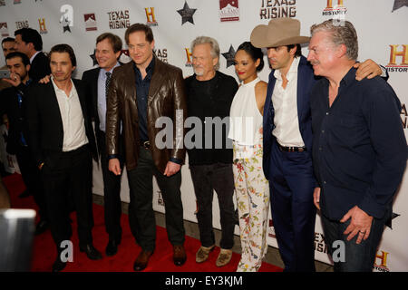 History's new miniseries 'Texas Rising' premiere at The Alamo - Arrivals  Featuring: Olivier Martinez, Bill Paxton, - Stock Photo