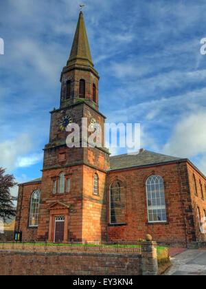 Annan Old Parish Church of Scotland - Stock Photo