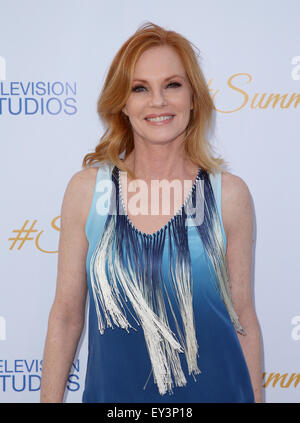 3rd Annual CBS Television Studios Rooftop Summer Soiree  Featuring: Marg Helgenberger Where: West Hollywood, California, - Stock Photo