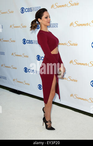 3rd Annual CBS Television Studios Rooftop Summer Soiree  Featuring: Katharine McPhee Where: West Hollywood, California, - Stock Photo