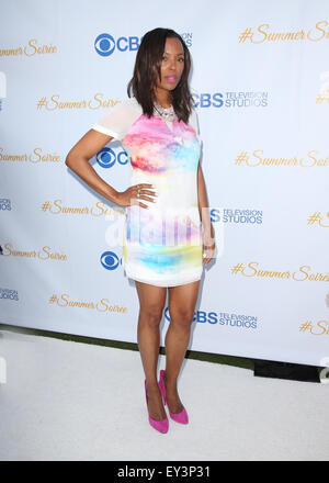 3rd Annual CBS Television Studios Rooftop Summer Soiree  Featuring: Aisha Tyler Where: West Hollywood, California, - Stock Photo