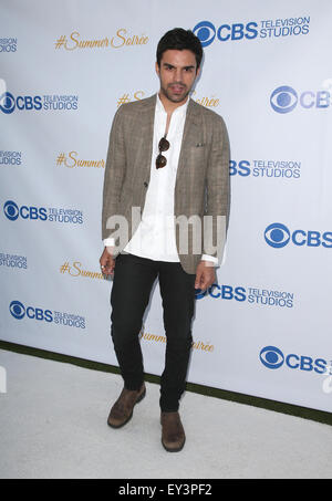 3rd Annual CBS Television Studios Rooftop Summer Soiree  Featuring: Sean Teale Where: West Hollywood, California, - Stock Photo