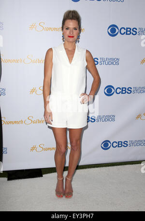 3rd Annual CBS Television Studios Rooftop Summer Soiree  Featuring: Maggie Lawson Where: West Hollywood, California, - Stock Photo