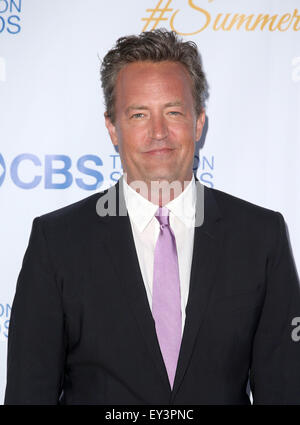 3rd Annual CBS Television Studios Rooftop Summer Soiree  Featuring: Matthew Perry Where: West Hollywood, California, - Stock Photo