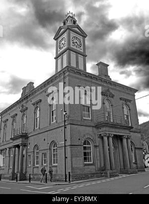 Marsden Mechanics Institute building, Kirklees, West Yorkshire,England,Uk - Stock Photo