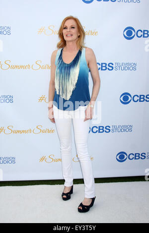 CBS Summer Soiree  Featuring: Marg Helgenberger Where: Los Angeles, California, United States When: 18 May 2015 - Stock Photo