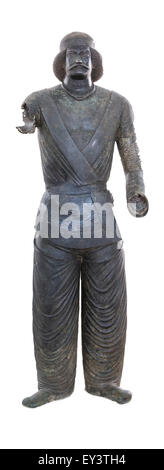 Statue of Parthian Noble Man, National Museum of Iran, Tehran, Iran - Stock Photo