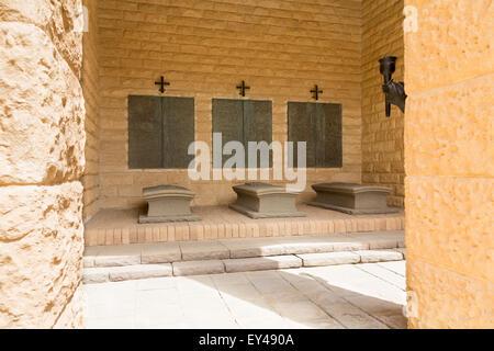 German second world war memorial, EL Alamein, Egypt - Stock Photo