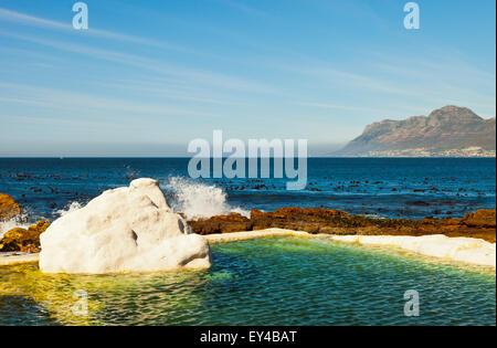 Outside Swimming Tidal Rock Pool Fornells Costa Brava Spain Stock Photo 134988633 Alamy