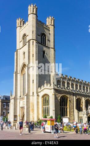 Great St Marys Church Cambridge Cambridgeshire England UK GB EU Europe - Stock Photo