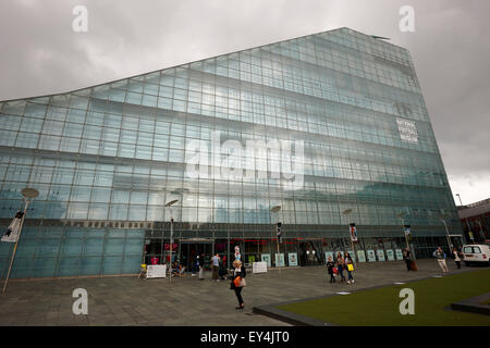 national football museum Manchester England UK - Stock Photo