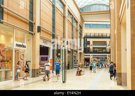 Grand Arcade Shopping Mall Cambridge City Centre Cambridgeshire England UK GB EU Europe - Stock Photo