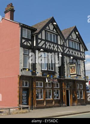 The Kings Head Pub, Winwick St, Warrington, Cheshire, England, UK - Stock Photo