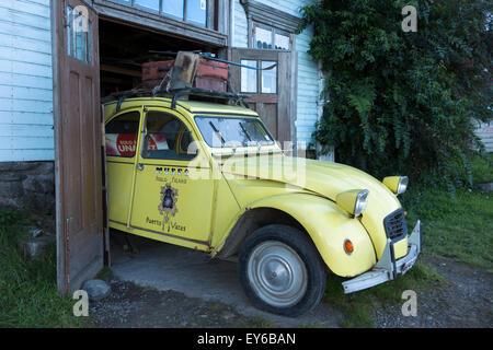citroen 2cv garage