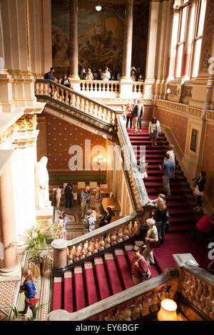 The Grand Staircase, The Foreign and Commonwealth Office, Whitehall, London, England - Stock Photo