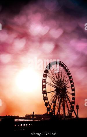 Brighton Wheel, Brighton, East Sussex, UK © Clarissa Debenham / Alamy - Stock Photo