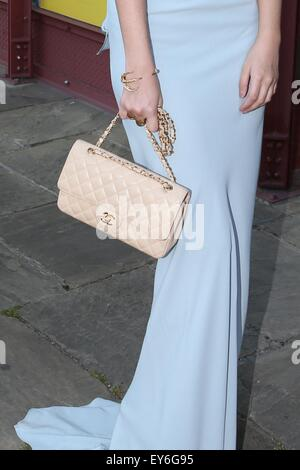 Guests attend Natwest UK Fashion and Textile Awards at Tobacco Dock, London  Featuring: Amber Le Bon Where: London, - Stock Photo
