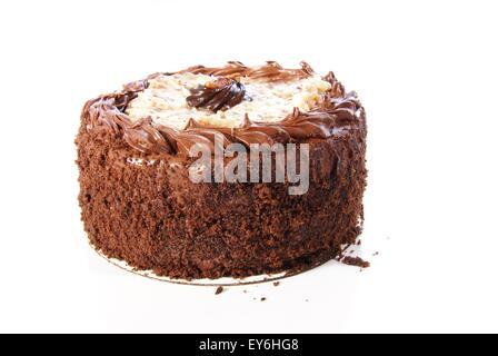 Moist coconut cake Stock Photo, Royalty Free Image ...