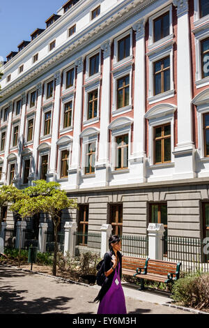 Cape Town South Africa African City Centre center The Company's Garden Government Avenue Houses of Parliament building - Stock Photo
