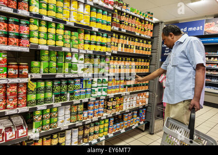 Cape Town South Africa African City Centre center Pick n Pay grocery store supermarket inside interior food sale - Stock Photo