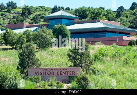 Garden of the Gods Visitor Center Stock Photo: 32902146 - Alamy