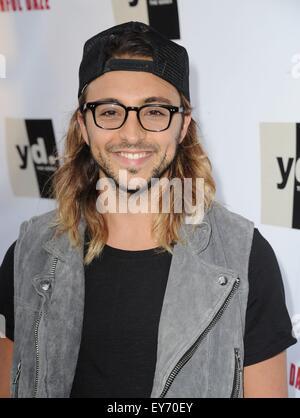 Los Angeles, CA, USA. 22nd July, 2015. DeGrazio at arrivals for YOUTHFUL DAZE Premiere, Bugatta Supper Club, Los - Stock Photo