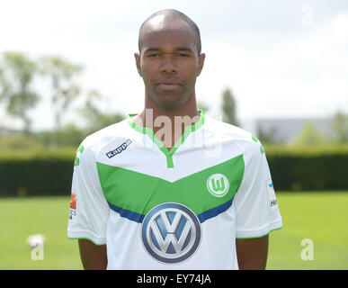 German Soccer Bundesliga 2015/16 - Photocall of VfL Wolfsburg on 16 July 2015 at the Volkswagen-Arena in Wolfsburg, - Stock Photo