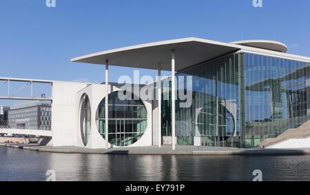 Marie-Elisabeth-Lueders-Haus, part of the german chancellery building (Bundeskanzleramt) near Reichstag - Stock Photo