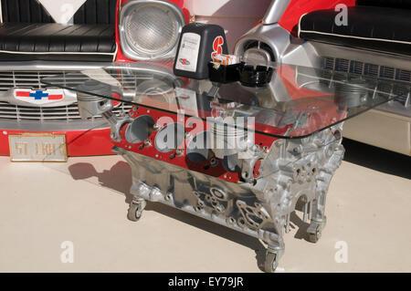 V Engine Coffee Table Tables Block Blocks Petrolhead Car Enthusiast - Motor coffee table