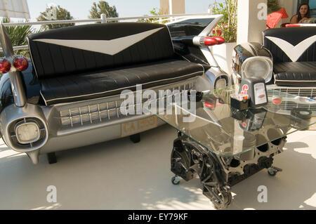 V8 Engine Coffee Table Tables Block Blocks Petrolhead Car Enthusiast Stock Photo Royalty Free