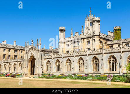 New Court St Johns College Cambridge university Cambridge Cambridgeshire England UK GB EU Europe - Stock Photo