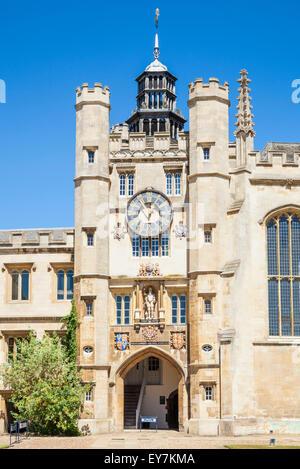 Trinity College Chapel exterior Cambridge University  Cambridge Cambridgeshire England UK GB EU Europe - Stock Photo