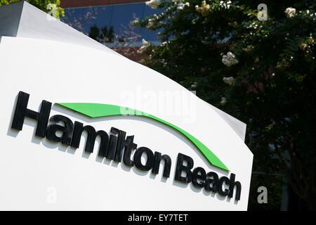 Hamilton Beach Logo a logo sign outside of the headquarters of hamilton beach brands