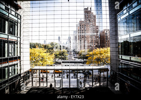Columbus Circle view from Time Warner Center - Stock Photo