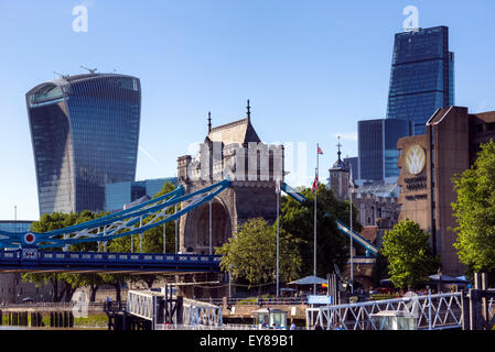 City of London, England, United Kingdom - Stock Photo