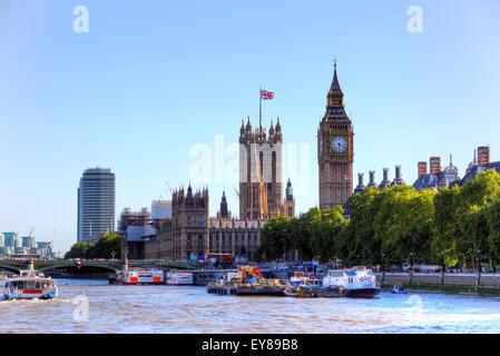 Westminster Palace, London, England, United Kingdom - Stock Photo